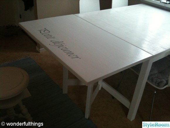 Rustikt Koksbord : lantligt koksbord  Nytt koksbord, fore och efterbilder Hemma hos