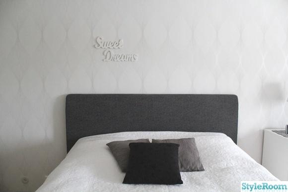 Inspirerande Album På Väggord Sovrum