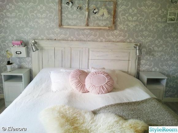 sänggavel,spegeldörr