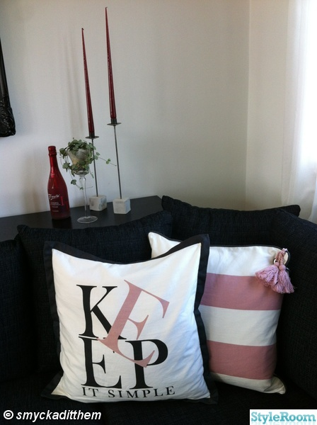 prynadskuddar,zbh,ljus,ljusstakar,soffa