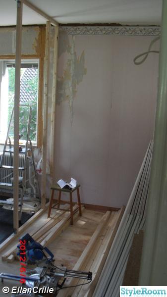 Bild på ny vägg Sovrummet av ellanocrille