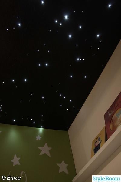 stjärnhimmel,väggmålning