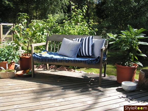 trädgård,altan,terass