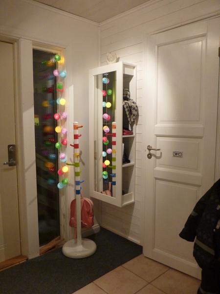 iris lights,ikea spegel,Tamburmajor,vitt,hall