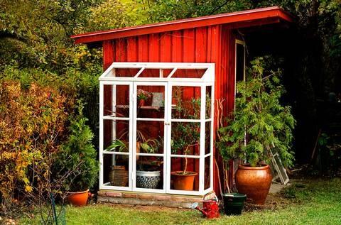 Växthus bygga
