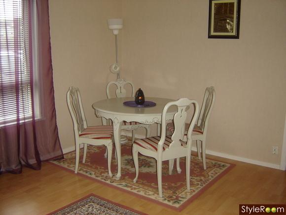 Litet Kok Inspiration : litet kok runt bord  Gustavianskt bord och stolar Inspiration och