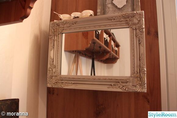 spegel,nyckelskåp