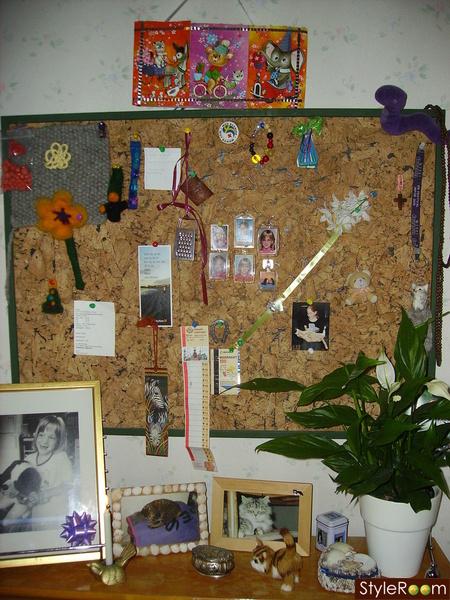 anslagstavla,nåltovning,fotografier,willys,blommor