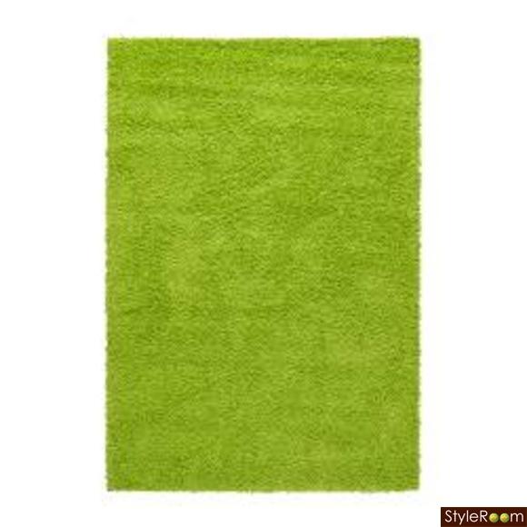 matta,lurvig,grön,lime