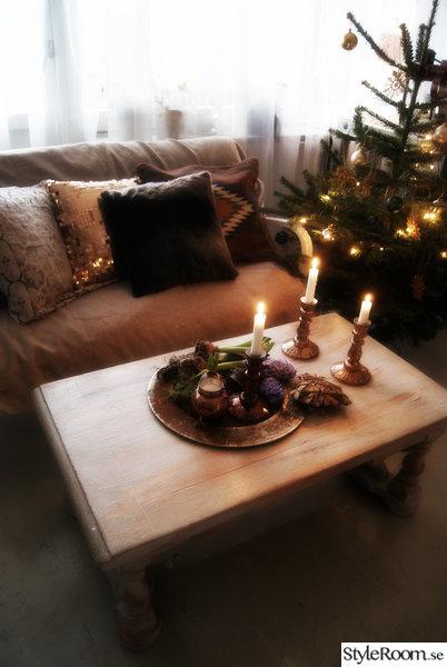 vardagsrum,rustikt,ljus,juligt,jul