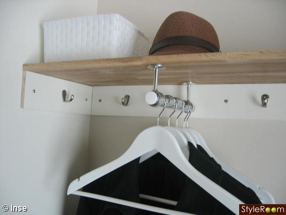 Inspirerande bilder på hatthylla