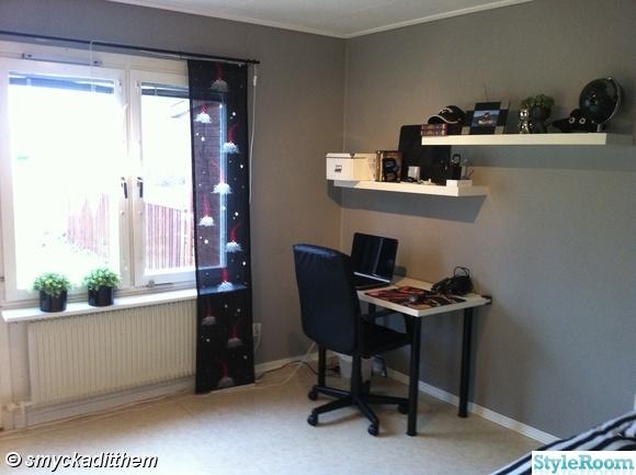 lackhylla,vit,skrivbord,ikea,skrivbordsstol