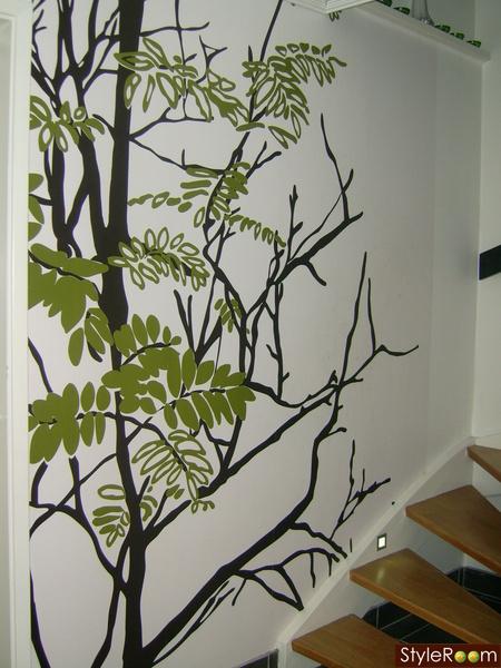 tapeter,träd