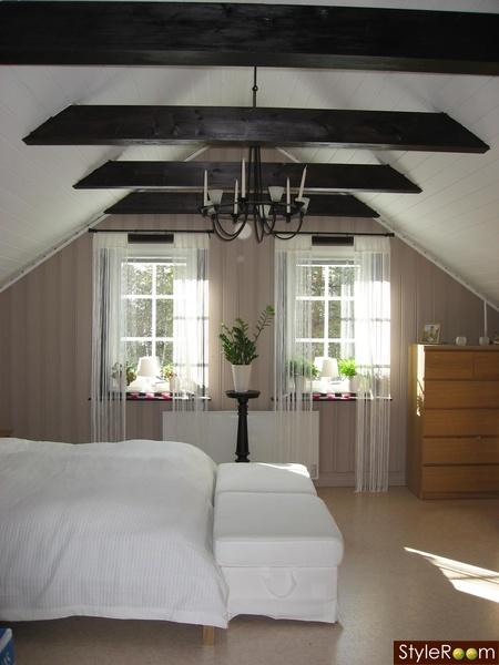 Snedtak - Inspiration och idéer om inredning med snett tak