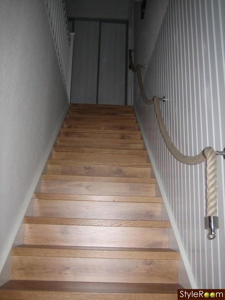 trappa,steg,panelvägg,rep,handledare