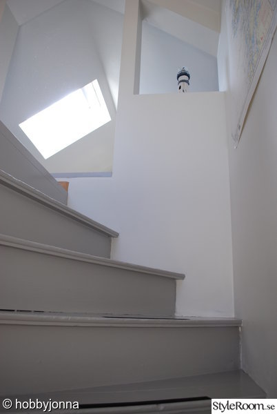trappa,måla,flügger,renovera,förnya