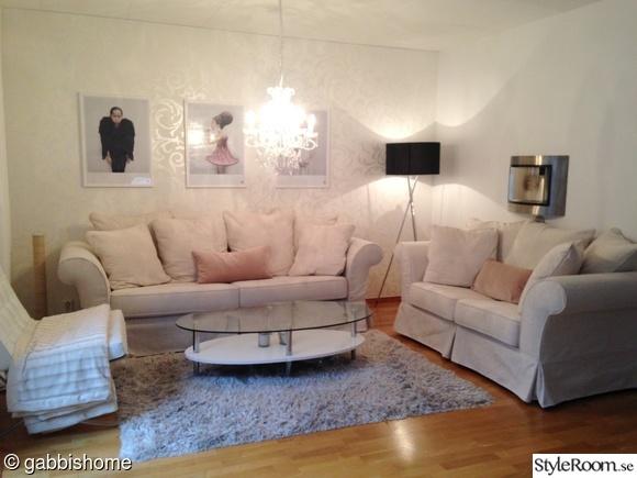 vardagsrum,vit soffa,pastellfärger,kitschlampa,vee speers