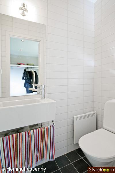 Liten toalett - Inspiration och idéer till ditt hem