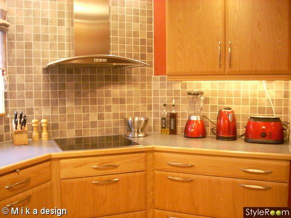 rött kök och bar : vårt underbara kök mycket förvaring grått och ...