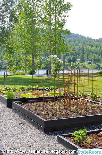 köksträdgård,armeringsnät