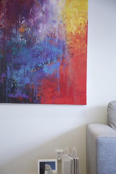 tavla,abstrakt,konst,magbag,vardagsrum