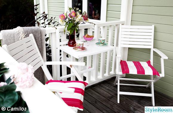 rusta,caféset,balkongbord,veranda,altan