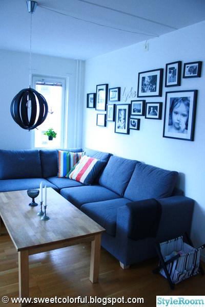 vardagsrum,soffa,lampa,grått,svart