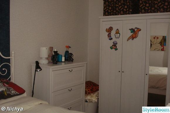 garderob,byrå,pärlplattor