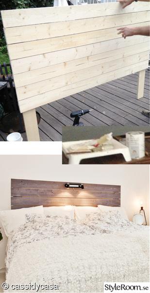sänggavel,gammalt trä,drivved,lasyr,laserad