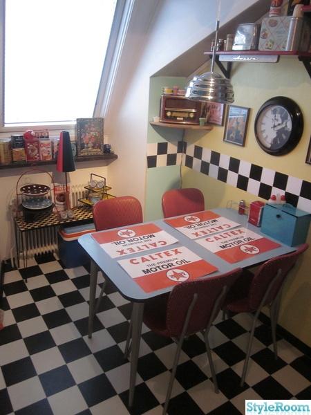 50-tal,retro,nostalgi,diner,kafébord