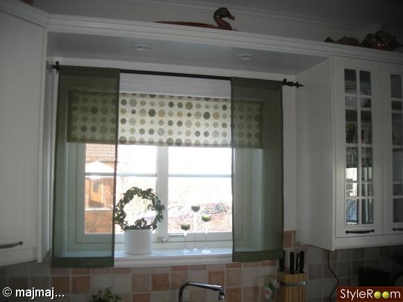 gardin,fönster,kök