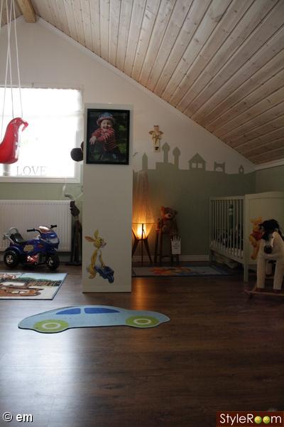 barnrum,barnmöbler,barnsäng,shabloner,siluett