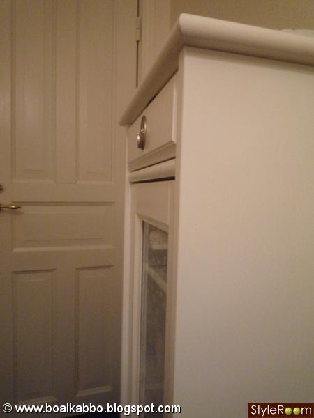 Bild på badrumsskåp ikea vår lilla toa av claramia