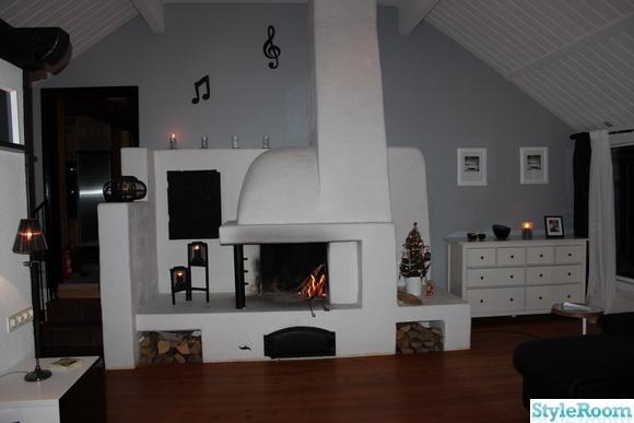 tv-rum,vardagsrum,vit,vitt,brasa