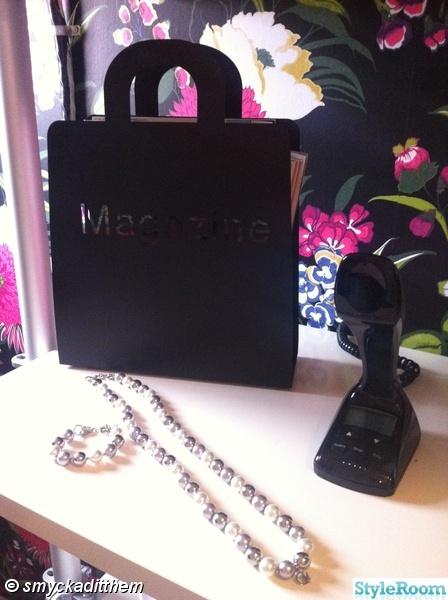 magazine,cobra telefon,svart,halsband,armband