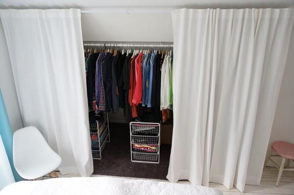 bygga egen garderob med skjutdörrar