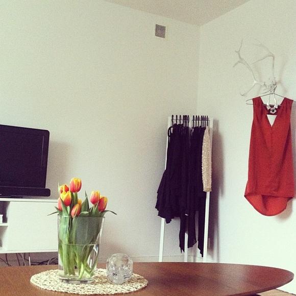 Inspirerande bilder på klädställning ikea