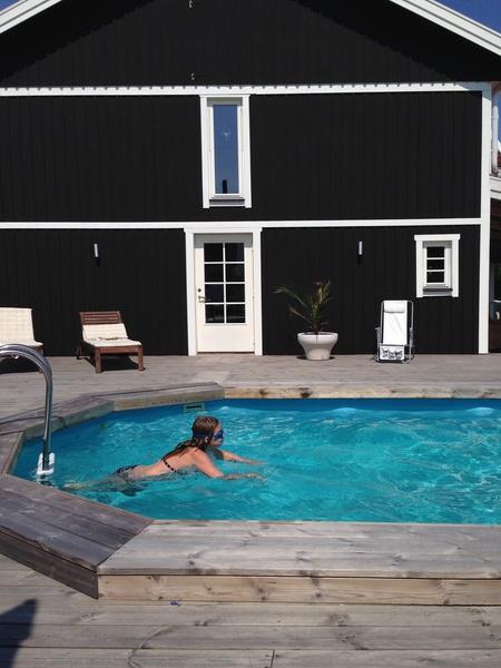 svartvitt,pool