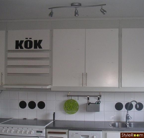 Bordslampa Kok : kok dekorplast  Rutigt med retro och pasteller eller kanske rustikt