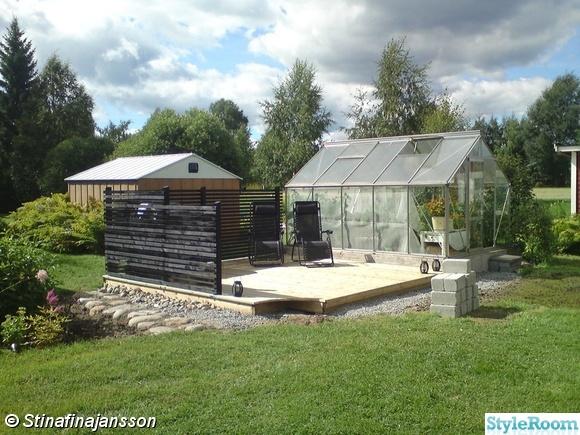 växthus/trädgård - En klippbok om inredning
