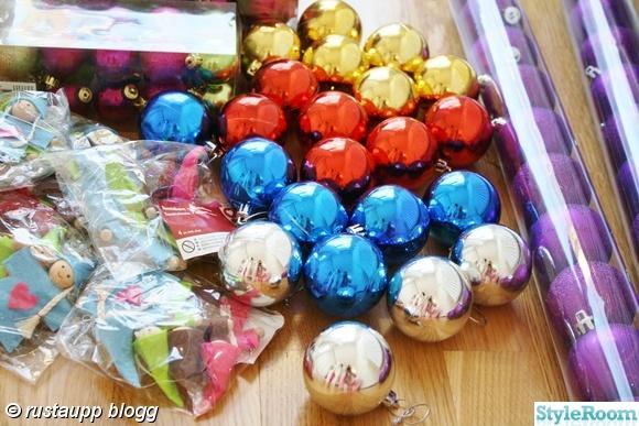 julkulor,guld,silver,lila,rosa