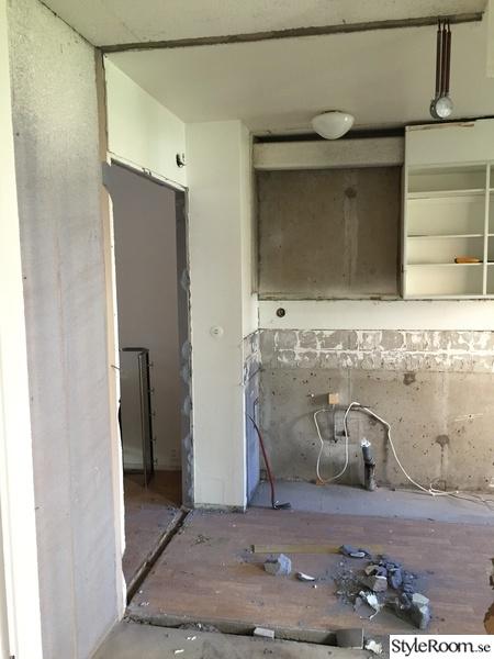 kök under renovering
