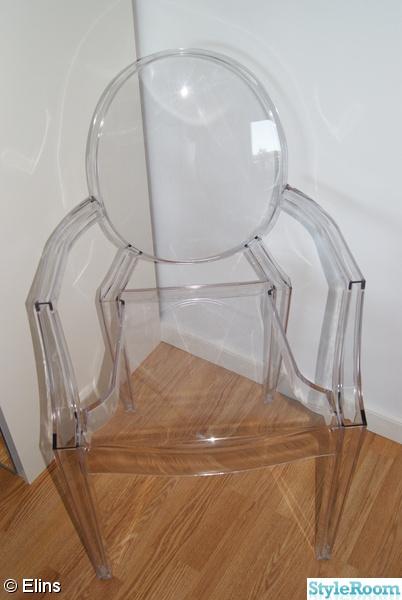 sovrum,kartell ghost,Philippe Starck