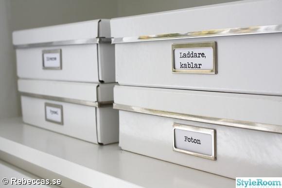 förvaringsboxar,ordning och reda