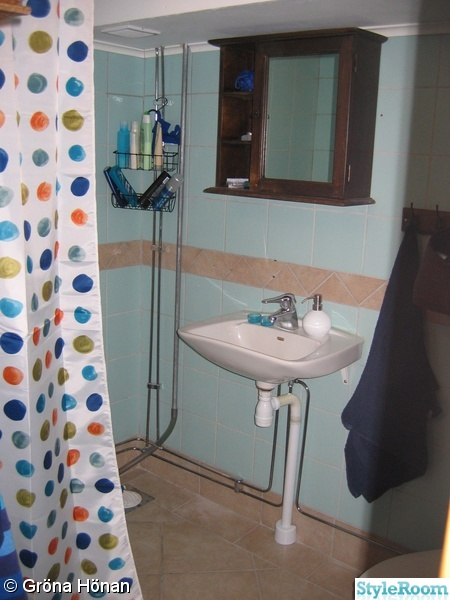 Lite fixat i badrummet Diskutera Inredningshjälp på StyleRoom