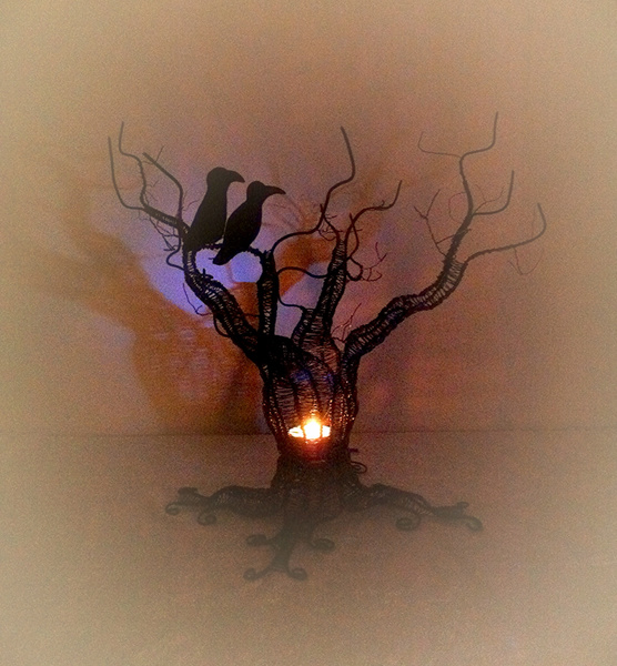 luffarslöjd,mysbelysning,träd,ljuslykta,vardagsrum