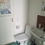 Litet och tråkigt badrum