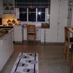 Kök innan utbyggnad och renovering