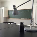 Så blev klassrummet till kontor
