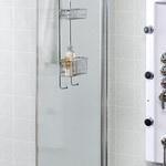 Hylla för duschväggar?